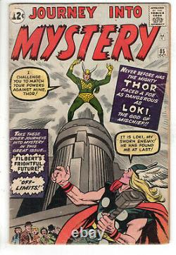 Journey Into Mystery #85 (1962) Grade 2.5 1st Appearance Loki And Heimdall