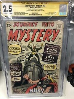 Journey Into Mystery #85 (1962, Marvel) 1st Loki, CGC Signed By Tom Hiddelston