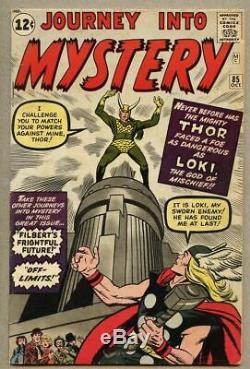 Journey Into Mystery #85-1962 vg/fn 5.0 1st app Loki Heimdall Asgard Odin cameo
