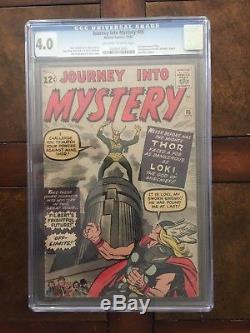 Journey Into Mystery 85 1st LOKI, Asgard, Odin 3rd THOR 1962 Marvel KEY CGC 4.0