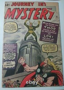 Journey Into Mystery 85 1st Loki Asgard Odin Low Grade