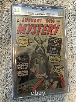Journey Into Mystery #85! 1st Loki! CGC 3.5. OWithW Pages