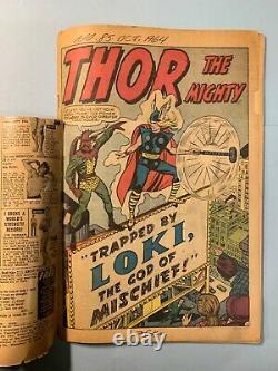 Journey Into Mystery #85 1st Loki, Odin, & Asgard THOR key Marvel 1962 12c