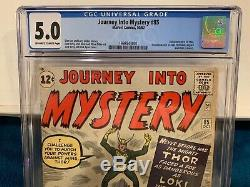 Journey Into Mystery # 85 1st Loki, Odin, Heimdall, & Asgard CGC 5.0 3rd Thor