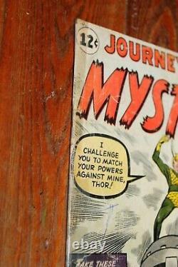 Journey Into Mystery #85 1st Loki complete low grade 1.0 1.5 Thor vs Loki