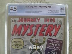 Journey Into Mystery #85 1st app Loki, Heimdall, Asgard and 1st cameo Odin