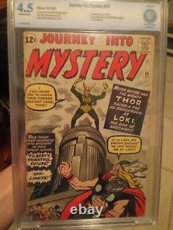Journey Into Mystery #85 CBCS 4.5 OW KEY (Like CGC) 3rd Thor & 1st Loki / Odin