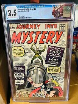 Journey Into Mystery 85 CGC 2.5