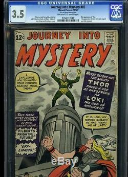 Journey Into Mystery 85 CGC 3.5