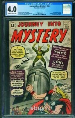 Journey Into Mystery #85 CGC 4.0 comic book 1st appearance of LOKI-3752539001