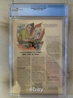 Journey Into Mystery 85 CGC 4.5- First Appearance Loki