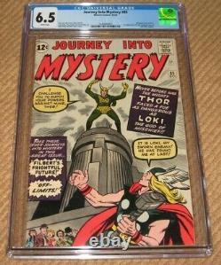 Journey Into Mystery #85 CGC 6.5 White Pages 1st App Loki 3rd App Thor