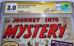 Journey Into Mystery #85 CGC SS Signature Autograph STAN LEE 3rd Thor & 1st Loki