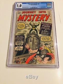 Journey Into Mystery #85 Cgc 1.0 1962 1st Appearance Of Loki, 3rd Thor