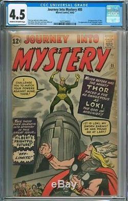 Journey Into Mystery 85 Cgc 4.5 #1622244003 First Loki
