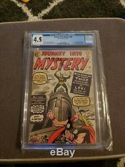 Journey Into Mystery #85 Cgc 4.5 1st Loki Odin Heimdall Asgard 3rd Thor Mega Key