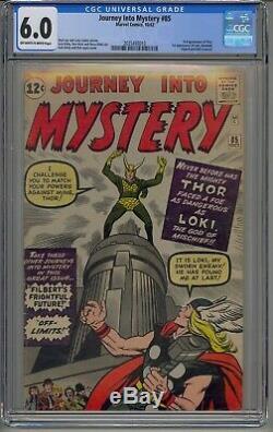 Journey Into Mystery #85 Cgc 6.0 Thor 1st Loki Odin