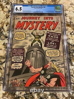 Journey Into Mystery #85 Cgc 6.5 Ow- White Pages 1st Loki Mcu Disney Tv Show Hot