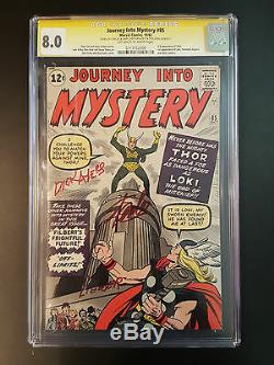Journey Into Mystery # 85 Cgc 8.0 Ss S. Lee, L. Liber, D. Ayers Ow-w 1st Loki App