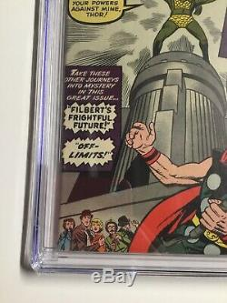 Journey Into Mystery 85 Cgc 9.0 Owithw Pages Marvel Silver Age 1st Appearance Loki