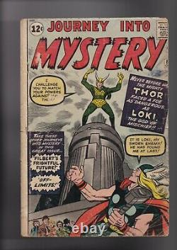 Journey Into Mystery #85 FR/GD 1.5 (Marvel) RESTORED SEE PICTURES