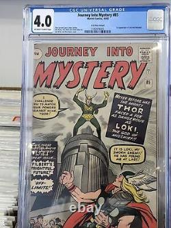 Journey Into Mystery #85 (First Appearance Of Loki) CGC 4.0 Pence