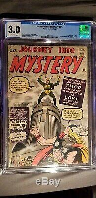 Journey Into Mystery #85 First Appearance of LOKI CGC 3.0 Universal Grade