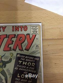 Journey Into Mystery 85 Good + 2.5 Raw First Loki