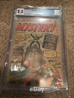 Journey Into Mystery 85 Loki 1962 Key CGC 2.5