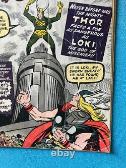 Journey Into Mystery #85 OW page 1st Appearance of Loki & Heimdall Low-Grade