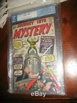 Journey Into Mystery #85 Pgx 4.5