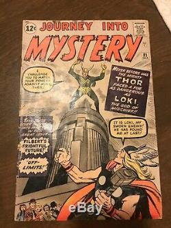 Journey Into Mystery #85 comic book origin 1st appearance of LOKI Kirby