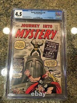 Journey Into Mystery #85 white page 1st Appearance of Loki and Heimdall CGC 4.5