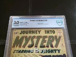 Journey Into Mystery 86 CBCS 3.0 2nd app Odin, 1st Zarko, 4th App Thor 1962