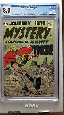 Journey Into Mystery #86 CGC 8.0 VF 2nd Appearance Odin