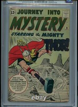 Journey Into Mystery #86 CGC Universal 5.0 Marvel Might Thor Kirby Cover