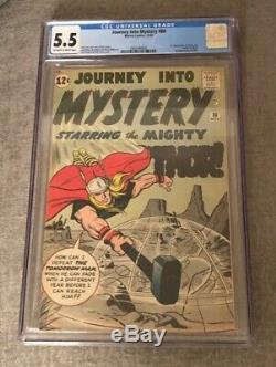 Journey Into Mystery #86 Cgc 5.5 Off-white To White Pages-1st. Full App. Odin