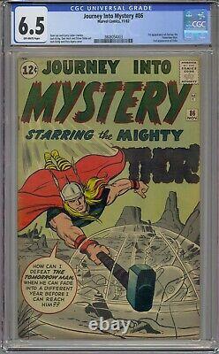 Journey Into Mystery #86 Cgc 6.5 2nd Odin 1st Zarrko The Tomorrow Man