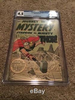 Journey Into Mystery 86 First Odin CGC Comic 4.5 Great grade for age Comic key