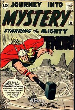 Journey Into Mystery #86 Silver Age Marvel 5.0
