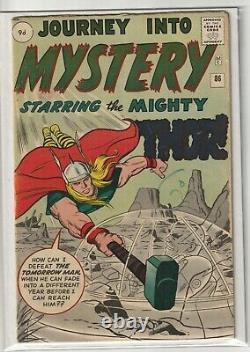 Journey Into Mystery # 86 VG+ 1st Appearance of Odin