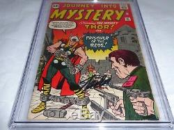 Journey Into Mystery #87 CGC SS Signature Autograph STAN LEE Mighty Thor Appear