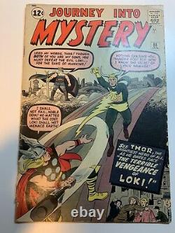 Journey Into Mystery #88 2nd Appearance LOKI OW Pages Marvel 1963 Disney+