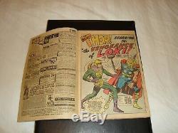 Journey Into Mystery #88, 2nd Loki, Jack Kirby Art, not restored, Nice Book
