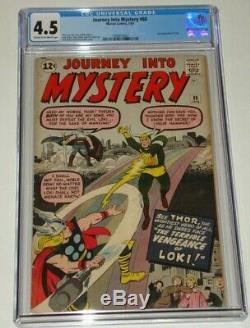Journey Into Mystery 88 CGC 4.5 2nd Appearance Loki 1963