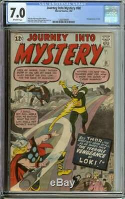 Journey Into Mystery #88 Cgc 7.0 Ow Pages