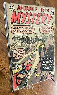 Journey Into Mystery 88 Silver Age Key Comic Book