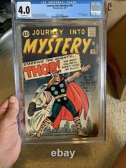 Journey Into Mystery #89 CGC 4.0 Origin of Thor