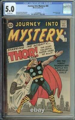 Journey Into Mystery #89 CGC 5.0 Origin Thor