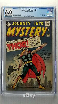 Journey Into Mystery #89 CGC 6.0 Fine Origin Thor Classic Cover